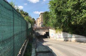 Il sottopasso di via Macerata ad Ancona
