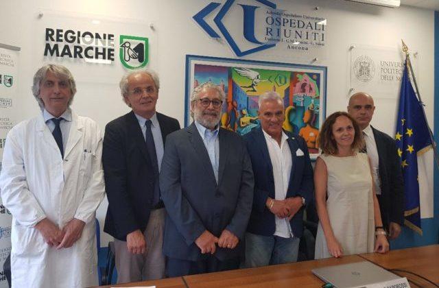Da sinistra Marcello D'Errico, Sauro Longhi, Paolo Pierani, Michele Caporossi, Anna Laurenti e Marco Vivarelli