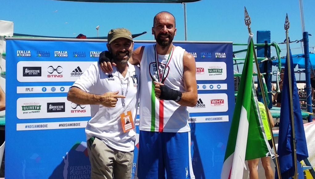 Da sinistra Simone Pardini e Sergio Lardinelli