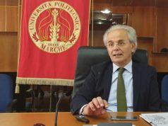 Il rettore dell'Università Politecnica delle Marche Sauro Longhi
