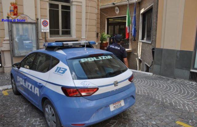 La polizia di Osimo