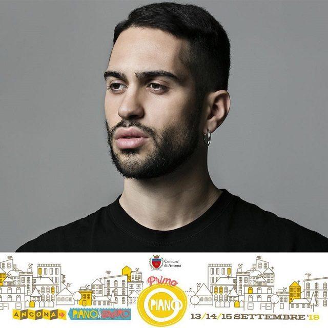 Il cantante Mahmood al Primo Piano Festival