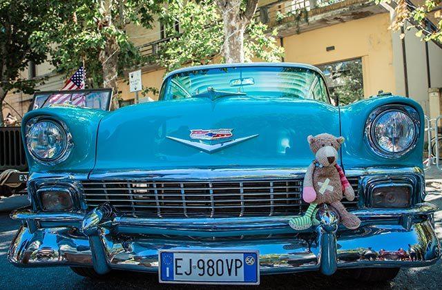 Le auto americane al Summer Jamboree 2019. Foto di Beatrice Perticaroli