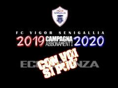 La campagna abbonamenti della Vigor 2019-2020