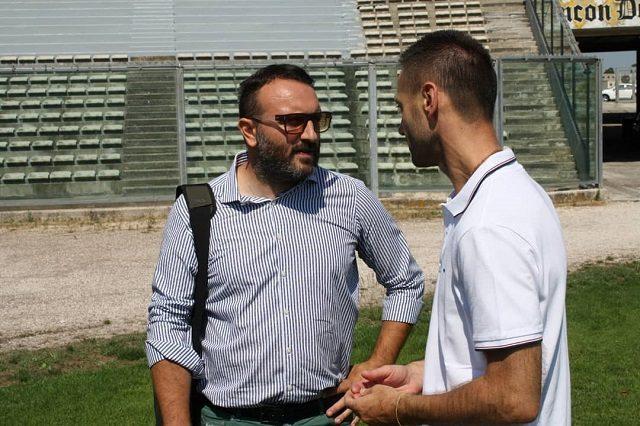 Davide Ciampelli, tecnico dell'Anconitana