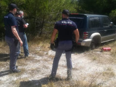 Il sopralluogo della Squadra Mobile e della Polizia Scientifica