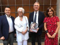 Alessandro Delpriori, Liliana Segre, Luca Ceriscioli e Anna Maria Ambrosini Massari