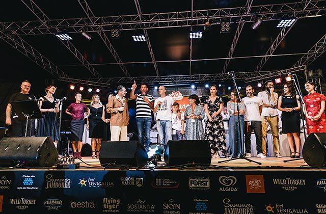 Il saluto di chiusura del Summer Jamboree 2019 a Senigallia