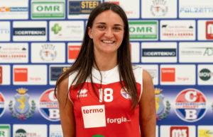 Laura Canuti, neo-giocatrice di Castelbellino