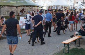 I controlli dei Carabinieri a Senigallia in occasione del Summer Jamboree