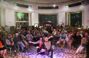 Costumi, storie e personaggi alla manifestazione L'Estetica dell'Effimero alla Rotonda di Senigallia