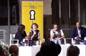 """Kate Rhodes ha aperto il festival letterario """"Ventimilarighesottoimari in giallo"""" a Senigallia"""
