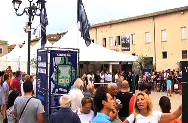 L'inaugurazione della fiera campionaria 2018 a Senigallia