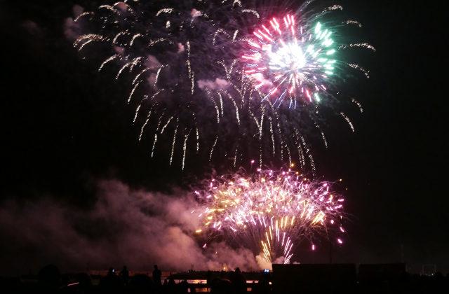 Esplosione di luci e colori a Senigallia