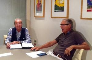 Bruno Stronati e Enrico Filonzi dell'associazione Azionisti Privati Banca Marche