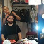 Rosanna Marchionni ha curato le acconciature degli attori dello Sferisterio di Macerata