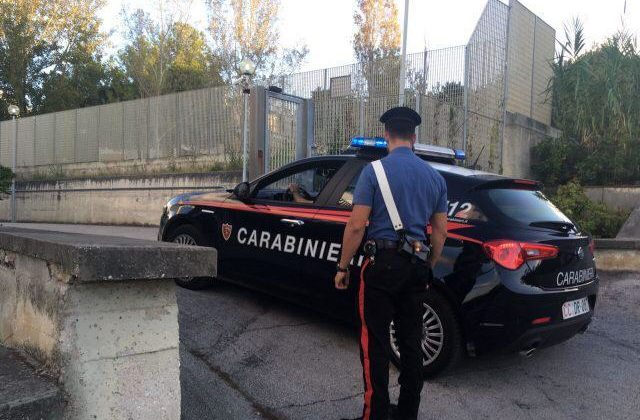 I carabinieri di Falconara Marittima