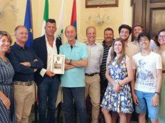 I turisti di Padova ricevuti dal sindaco di Senigallia Maurizio Mangialardi