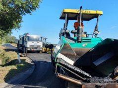 Le operazioni di asfaltatura