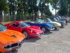 Le auto d'epoca in mostra