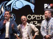 Da sinistra: il sindaco Roberto Ascani, il direttore artistico Renzo Ruggeri e l'assessore alla Cultura Ruben Cittadini (Immagine di repertorio)