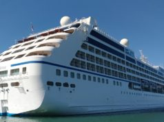 La nave da crociera Sirena al porto di Ancona