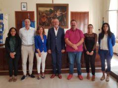Presentazione del progetto nella sala consiliare di Montemarciano