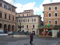 Le giostre in piazza Boccolino