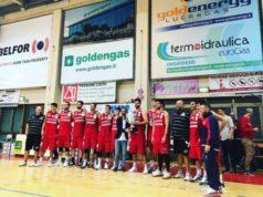 Goldengas Senigallia premiata per la vittoria del quadrangolareGoldengas Senigallia premiata per la vittoria del quadrangolare