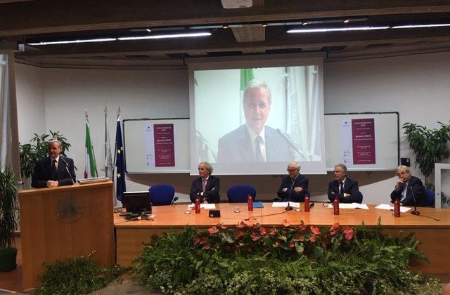 La lezione del Governatore della Banca d'Italia Ignazio Visco nella Facoltà di Economia dell'Ateneo dorico