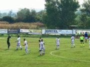 Una foto della Vigor Senigallia durante il match di Coppa col Marina