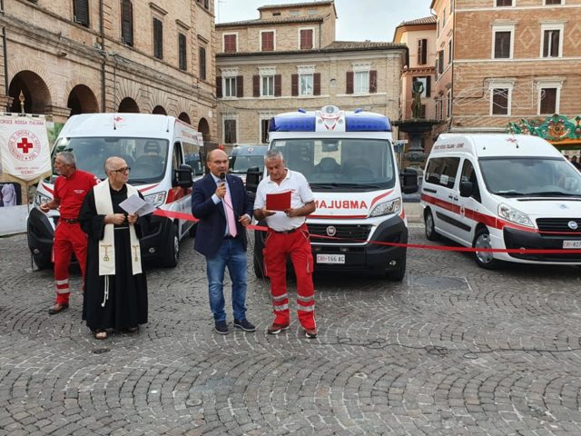 Le nuove ambulanze