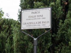 Il parco di sassoferrato intitolato ai due giornalisti Italo Toni e Graziella De Palo