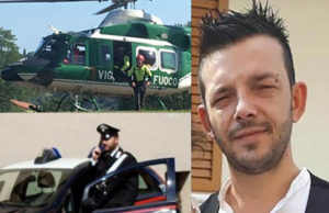 Sono in corso le ricerche per trovare Cristian Genova, il giovane papà scomparso a Civitanova Marche