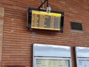 La stazione ferroviaria di Fabriano