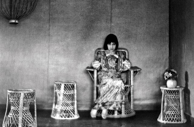 Tina Modotti in casa di Edward Weston