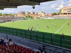 Una fase di gioco di Vigor Senigallia-Marina (Coppa)