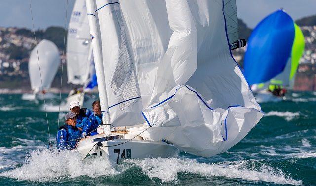 Alberto e Claudia Rossi cercano le prime posizionei nel mondiale J/70
