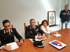 La conferenza stampa sugli arresti per caporalato a Pesaro