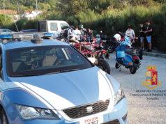 I controlli a moto e scooter da parte della Polizia di Senigallia