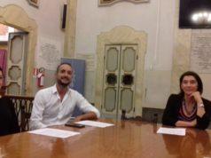 La presentazione di Job Club. Da sinistra Giulia Bellagamba (Informagiovani), Daniele Orazi (psicologo) e l'assessora Marisa Campanelli
