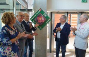 Il nuovo defibrillatore donato dal Lions Club all'Università Politecnica delle Marche