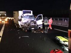 L'incidente sull'autostrada A14 a Montemarciano