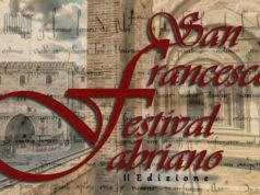 La locandina del San Francesco Festival a Fabriano