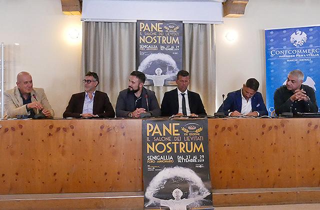 La presentazione a Senigallia di Pane Nostrum 2019