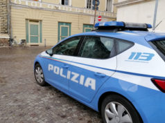 Un'auto della Polizia
