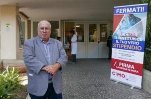 Luciano Moretti, segretario regionale Cimo