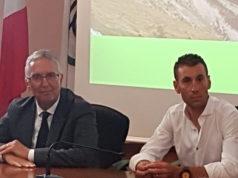 Luca Ceriscioli e Vincenzo Nibali
