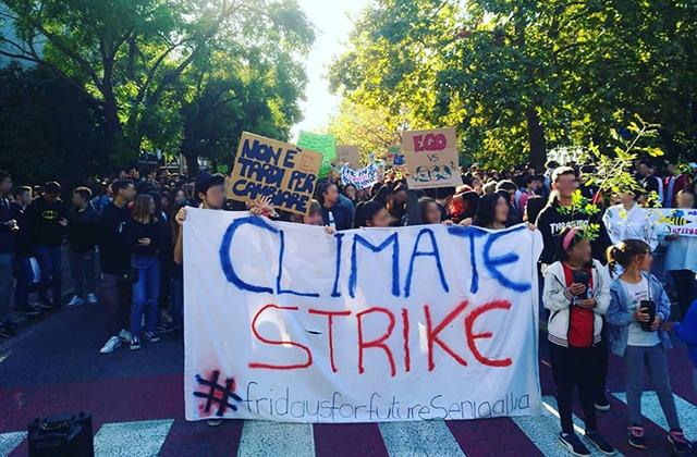 Lo sciopero per il clima promosso da Fridays For Future a Senigallia