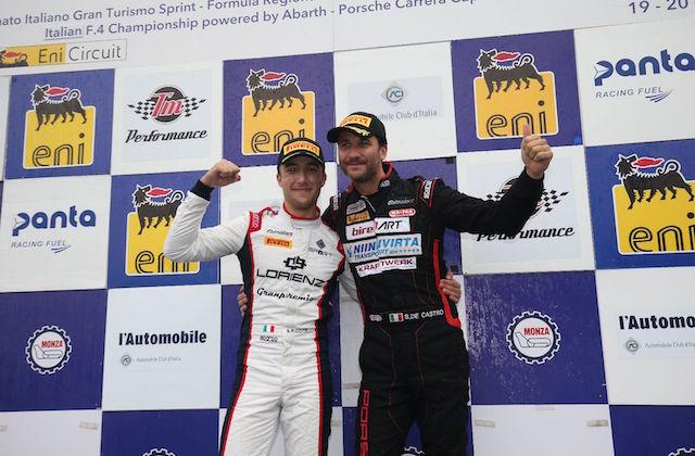 Simone Riccitelli e Sabino De Castro